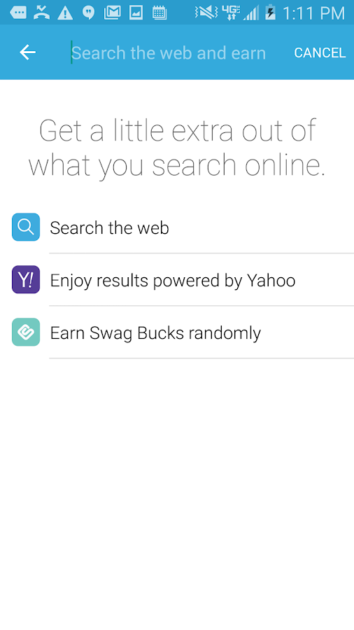 Swagbucks- screenshot