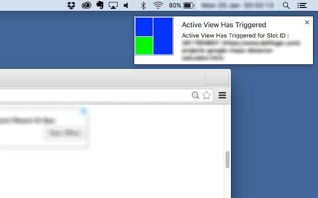 AdSense Active View Monitor