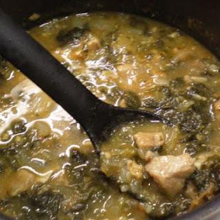 Pork Sinigang (Philippine Tamarind Soup).