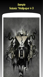 Satanic Wallpaper HD Free - náhled