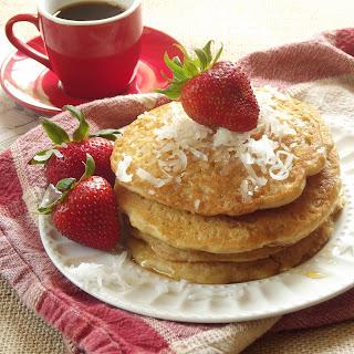 Coconut Milk Quinoa Pancakes.