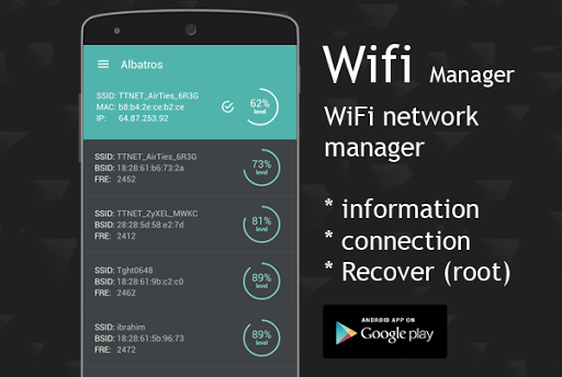 Wifi Manager - Recover Pro