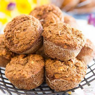 Whole Wheat Spiced Butternut Squash Muffins.