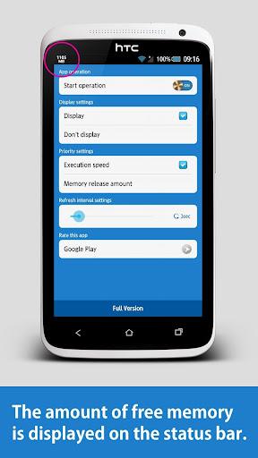Memory Release Plus screenshot 1