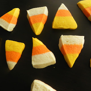 Candy Corn Sugar Cookies.