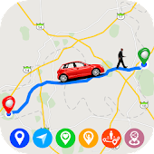 GPS Route Finder : Maps Navigation & Direction
