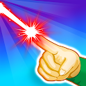Laser Beam 3D - drawing puzzle icon
