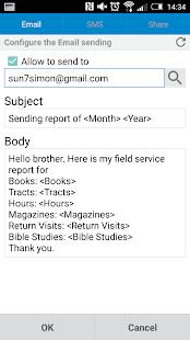 Service Report - náhled