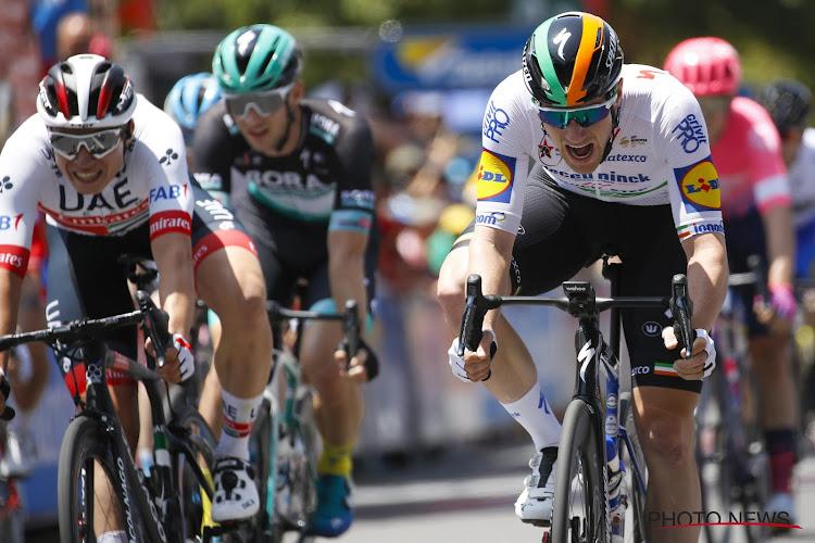 Sam Bennett remonteert Philipsen nog en triomfeert na machtige sprint van ver