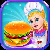 Tải đầu bếp bánh hamburger miễn phí