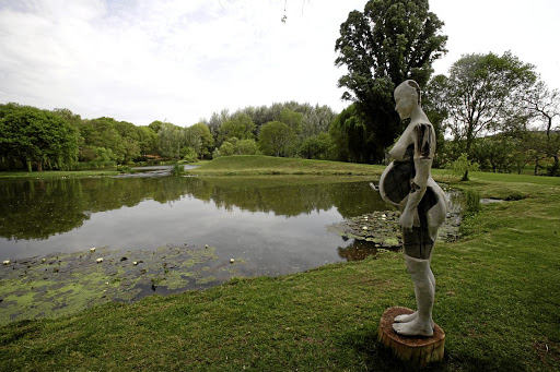 Walk on the creative side: Artist Beezy Bailey's Lady Sky displayed at Nirox Sculpture Park in October 2015. In 2018, the experience took on the feel of a performance art. Picture: TSHEPO KEKANA