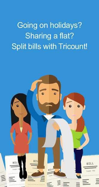 Tricount - Split bills & manage group expenses Android App Screenshot