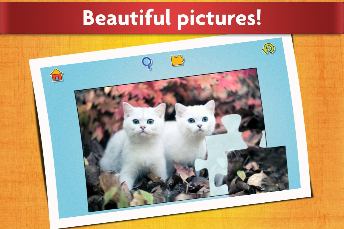 cats jigsaw puzzles games for kids u0026 adults android apps on