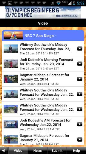 NBC 7 San Diego Weather screenshot 5