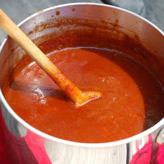 Spicy Sweet Barbecue Sauce.