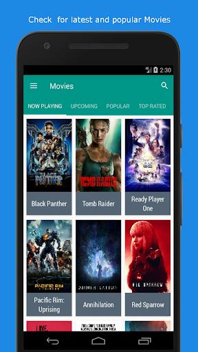 Movie & TV Listings – Recommendations & Reviews v1.9 screenshots 1