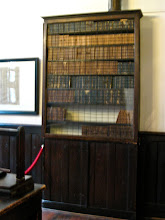 Photo: Original bookshop with some original volumes.