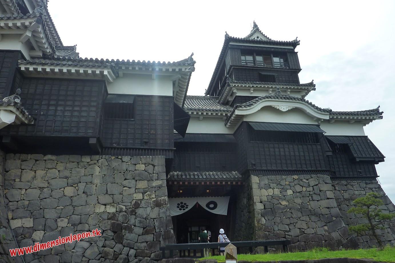 P1060968 Entrada al Castillo de Kumamoto (Kumamoto) 15-07-2010