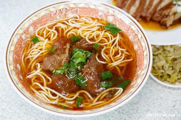 湖南味牛肉麵.台中西區美食(湯頭清爽不會死鹹,滷味貴但好吃)
