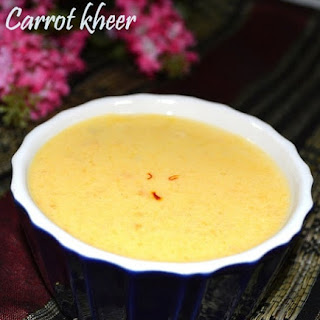 Carrot payasam- A healthy dessert.
