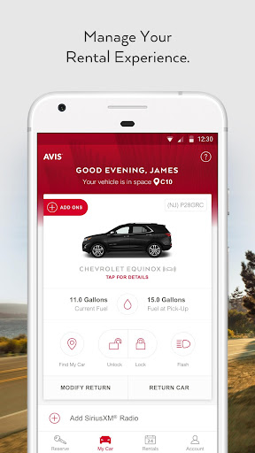 Avis Car Rental - Apps on Google Play ab6bfd5f008