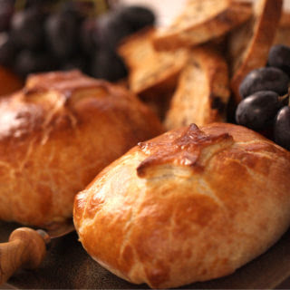 Brie in Puff Pastry.
