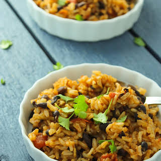 Easy Mexican Beans and Rice.