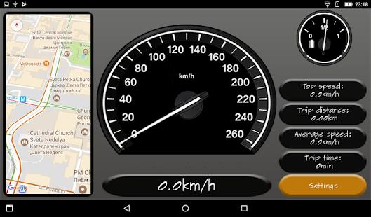 Simple Speedometer Pro - náhled