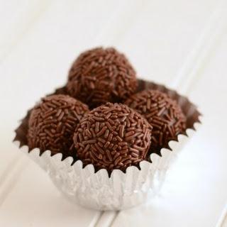Caramel Chocolate Truffles {Brigadiero}