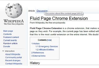 Fluid Page