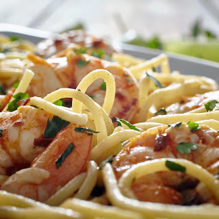 Mexican Shrimp Scampi.