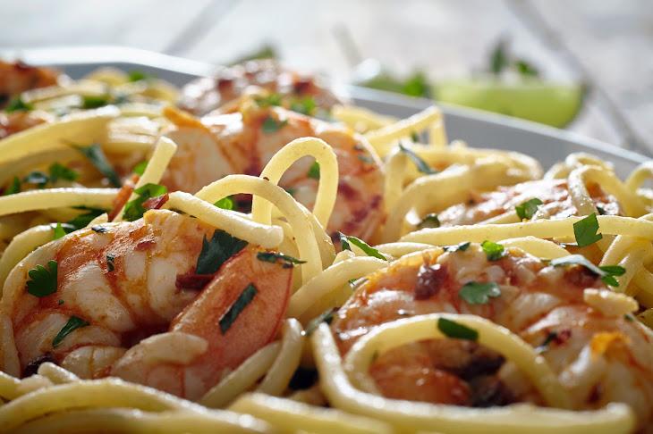 Mexican Shrimp Scampi Recipe