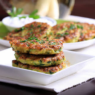 Zucchini and Lemongrass Fritters.