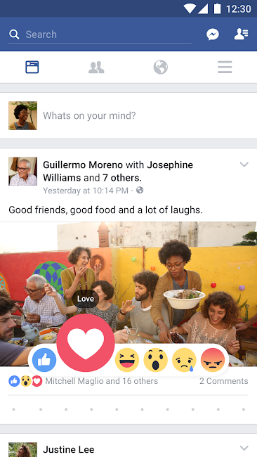 #1. Facebook (Android)