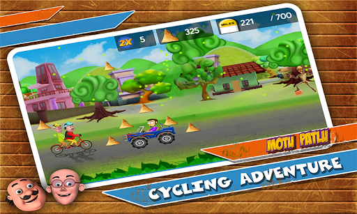 Motu Patlu Cycling Adventure 1.1.1 screenshots 3