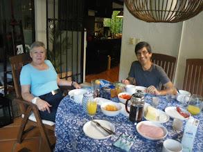 Photo: Bei Martin und Paula zu Gast, Frühstück