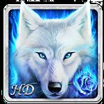 Arctic Wolf Live Wallpaper Icon