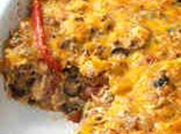 Beefy Nacho Casserole Recipe