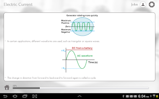 Screenshot of Grade 12 Physics