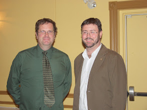 Photo: Dave Rasmussen (RVC for RP), Glenn MacLean (PR Chair 2007-2008)