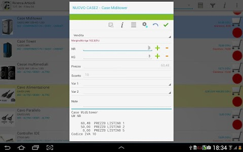 ZippyEvolution Raccolta Ordini screenshot 8