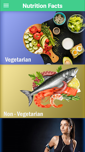 Nutrition Food Facts : Health & Nutrition Guide Screenshot