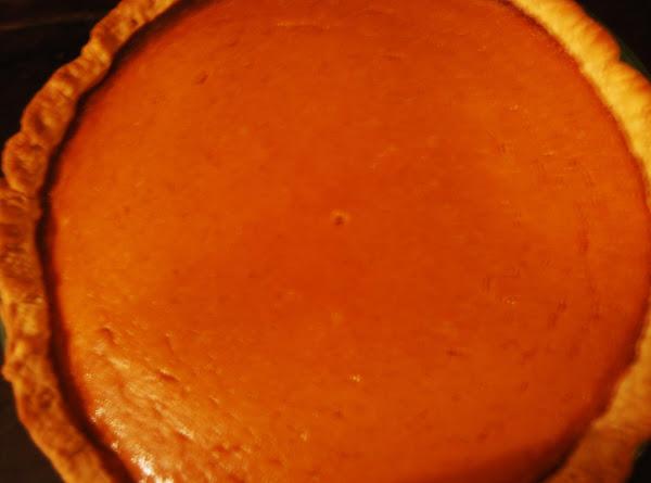 Jodie's Pumpkin Pie Recipe