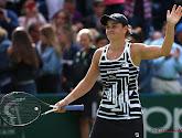 Ashleigh Barty komt met de schrik vrij, ex-winnares van de US Open nu al naar huis