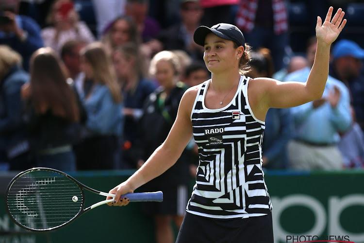 Ashleigh Barty schakelt revelatie Elena Rybakina uit, Kvitova en Sakkari ook door