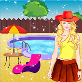 Doll Dress up - Pool Party