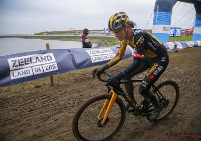 Marianne Vos is de sterkste in Iowa, wereldkampioene Brand eindigt net naast het podium
