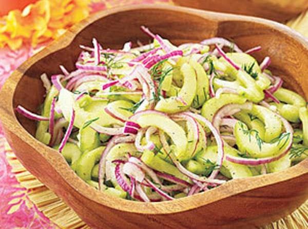 Cool Cucumber Dill Salad Recipe