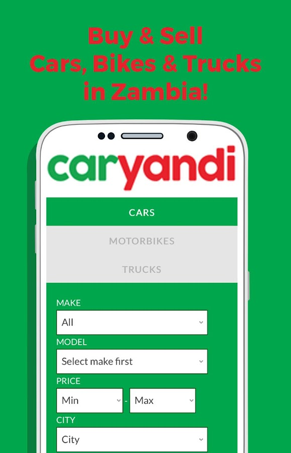 CarYandi Buy&Sell Cars Zambia- screenshot