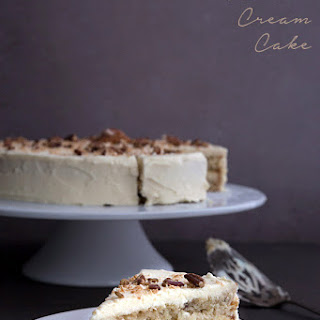 Low Carb Italian Cream Cake.
